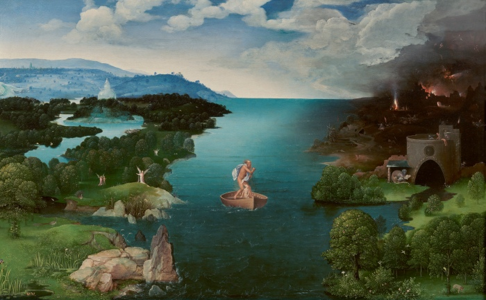 Joachim Patinir, Charon crossing the River Styx