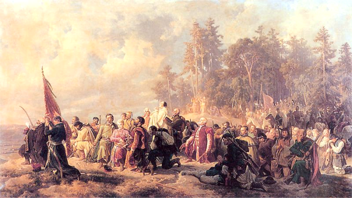 Artur_Grottger_Modlitwa_konfederatów_barskich