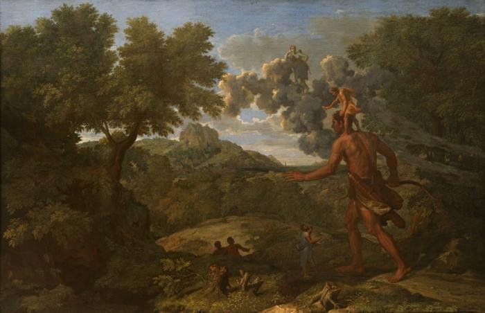 Nicolas Poussin - Krajobraz z Orionem