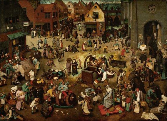 14197resizedimage568410-Pieter-Bruegel-Walka-postu-z-karnawaem