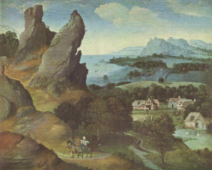 Joachim Patinir - Ucieczka do Egiptu