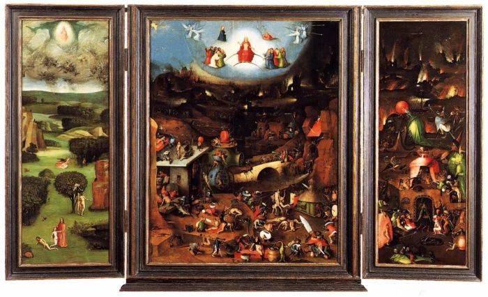 Hieronim Bosch - Tryptyk Sądu Ostatecznego 1504-08