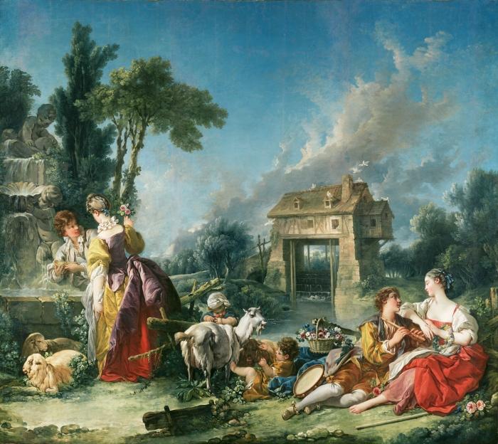 François Boucher - Fountain of Love